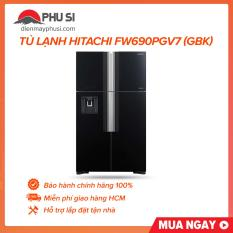 Tủ lạnh Hitachi Inverter 540 lít R-FW690PGV7 (GBK)