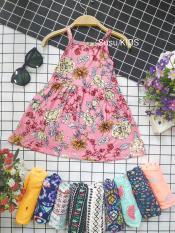 [Xưởng may SuSu] Váy 2 dây cotton mềm, mát cho bé mặc hè, váy đầm bé gái, váy bé gái, bộ đồ bé gái, hàng hè cho bé gái