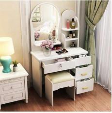 Bàn trang điểm phòng ngủ căn hộ nhỏ bàn trang điểm hiện đại ib đặt hàng