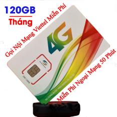 Sim 4G Viettel V120Z (V90) gói 4GB/ngày [Free tháng đầu] Mỗi tháng có (120Gb + 4350 phút gọi miễn phí / tháng +50 phút gọi ngoại mạng) viettelvn.Chỉ sử dụng ở TPHCM,CẦN THƠ,ĐÀ NẴNG