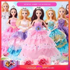 Đồ chơi búp bê công chúa mắt 3D đẹp – thiết kế tinh xảo (đủ màu váy để lựa chọn)