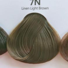 Thuốc nhuộm tóc màu Nâu tây (không tẩy tóc) (kèm trợ nhuộm và găng tay)