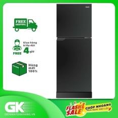Tủ lạnh Aqua 130 lít AQR-T150FA BS, công nghệ làm lạnh đa chiều, kháng khuẩn, khử mùi với công nghệ Nano Fresh Ag+ – Bảo hành 24 tháng