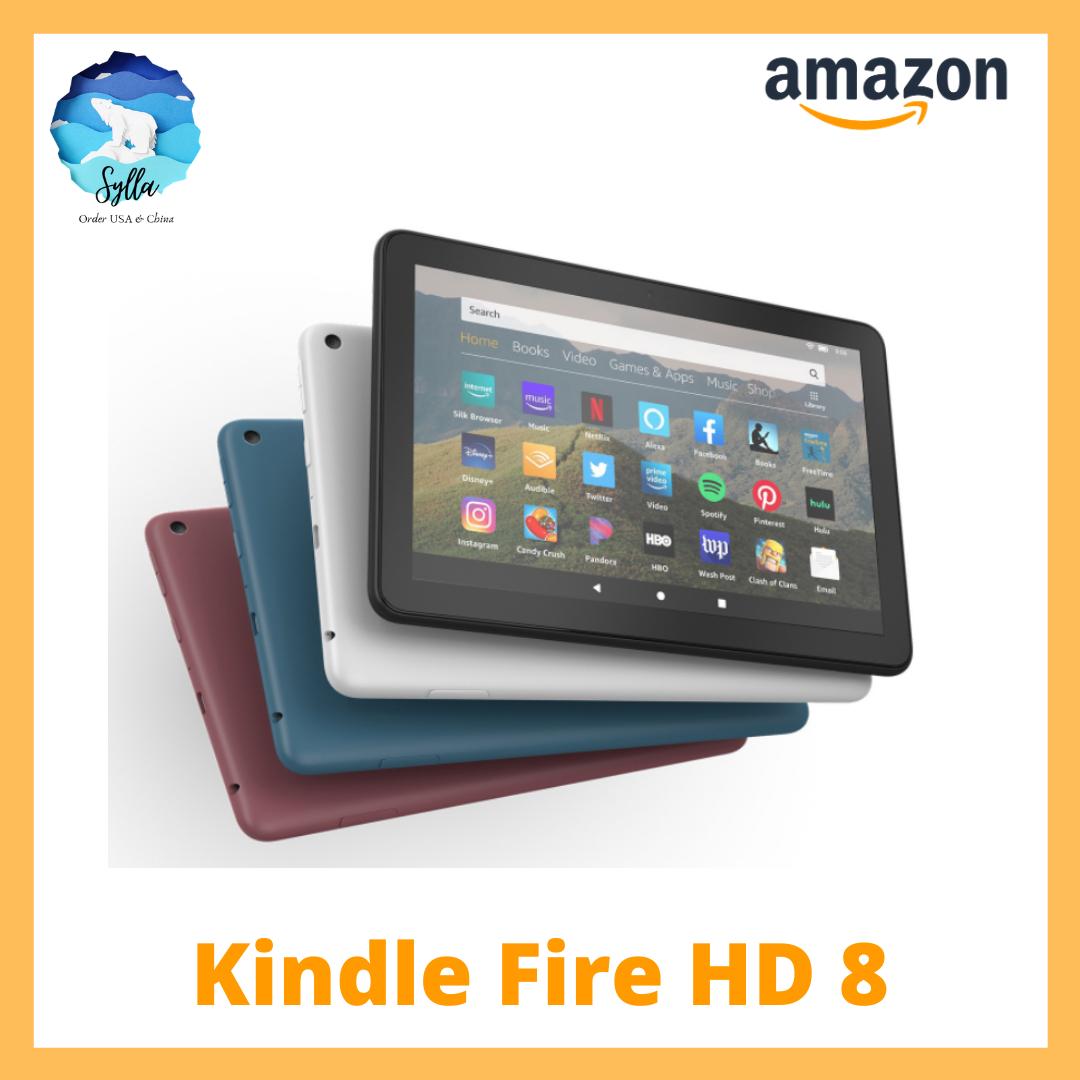 Máy tính bảng Kindle Fire HD 8 – màn hình 8″ gen 10th Hoàn toàn mới [Nhập khẩu USA]
