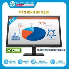 Màn hình HP V220 (21.5 Inch/FULLHD/60HZ/5Ms/TN with LED backlight/Jack black-4CJ27AA) – Hàng Chính Hãng