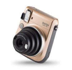 Máy chụp ảnh lấy ngay Fujifilm Instax Mini 70 màu Vàng Đồng (Gold) + kèm 10 tấm ảnh instax mini