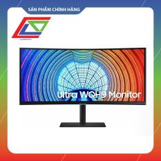 Màn hình cong Samsung LS34A650UXEXXV 34″ WQHD (3440 x 1440) 100Hz 5ms GTG G-sync – Hàng Chính Hãng