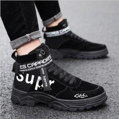 Giày bốt cao cổ nam mẫu mới cực ngầu VG375 thích hợp đi chơi đám cưới đi học-Vua Giày chuyên giàysneaker thể thao giày công sở