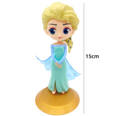 [HCM giao 1-2 ngày]Set 4 mô hình công chúa Disney – Elsa, Bạch Tuyết, người cá – Smart baby