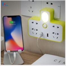 Ổ Cắm Điện – Ổ Điện Đa Năng Loại Xịn Có Cổng Gắn USB Sạc Điện Thoại Kiêm Đèn Ngủ Cực Đẹp