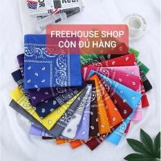 Khăn bandana turban vuông thời trang hàn quốc nhiều kiểu dáng đẹp rạng ngời tăng thêm điểm nhấn và đầy quyến rũ