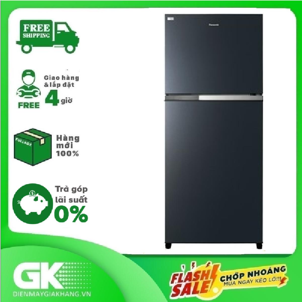 TRẢ GÓP 0% – Tủ lạnh Panasonic Inverter 558 lít NR-BZ600PKVN- Bảo hành 2 năm