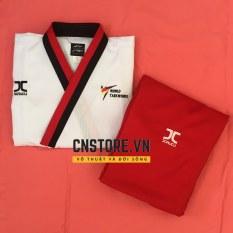 Võ Phục Taekwondo Quyền Vải Sọc Bền Chắc Loại Tốt