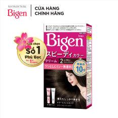 Thuốc nhuộm tóc phủ bạc dạng kem Bigen Speedy Color Cream 80ml