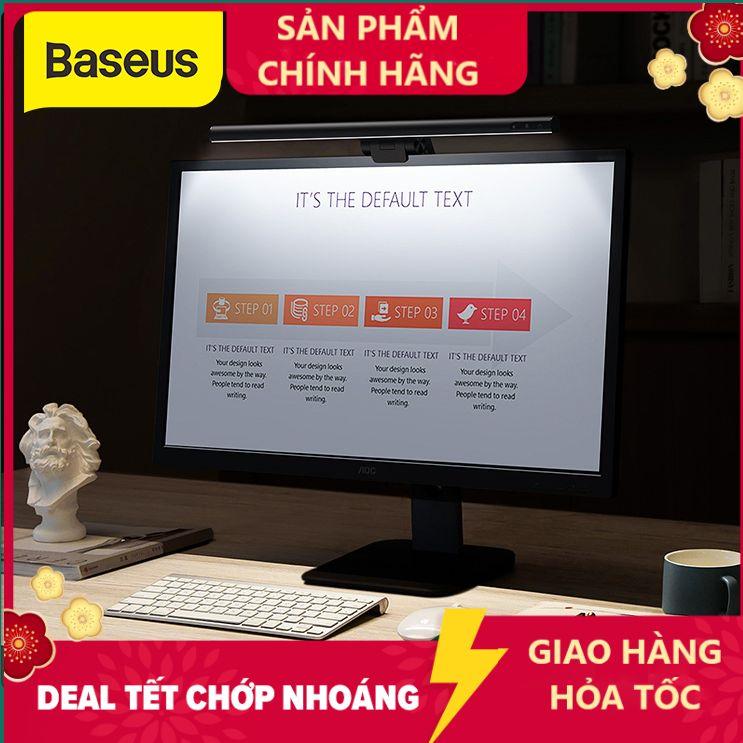 Baseus Đèn LED dạng thanh dài hỗ trợ ánh sáng cho màn hình LCD điều chỉnh độ sáng phù hợp...