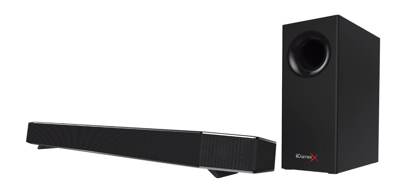 Loa Vi Tính Creative Sound BlasterX Katana (Black) – Hàng Chính Hãng