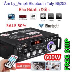 Ampli karaoke bluetooth Amply nghe nhạc gia đình Bluetooth hàng cao cấp – Amply Bluetooth, USB, TF, FM, chạy 12 sò, công suất 300W – Ampli karaoke bluetooth Amply nghe nhạc gia đình Bluetooth hàng cao cấp