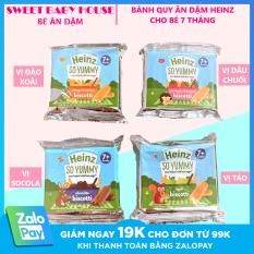 [HCM]Bánh ăn dặm Heinz – Bánh quy ăn dặm vị Táo cho bé 7 tháng tuổi. Date 2021