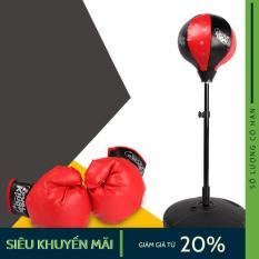 Bộ Đồ Tập Boxing Cho Bé – Đồ Chơi Thể Thao Trẻ Em Đấm Bốc Màu Đen Đỏ – Boxing Suit.