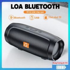 Loa bluetooth mini âm thanh sống động hỗ trợ khe cắm thẻ nhớ, cho phép kết nối cuộc gọi, thời lượng pin lâu và kết nối ổn định, phù hợp dùng trong nhà hoặc ngoài trời