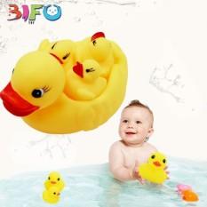 Đàn vịt thả bồn tắm có tiếng kêu vui nhộn giúp bé thỏa sức vui chơi ngày hè