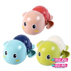 Set đồ chơi bồn tắm 3 chú rùa con biết bơi cho bé siêu dễ thương chất liệu nhựa ABS an toàn