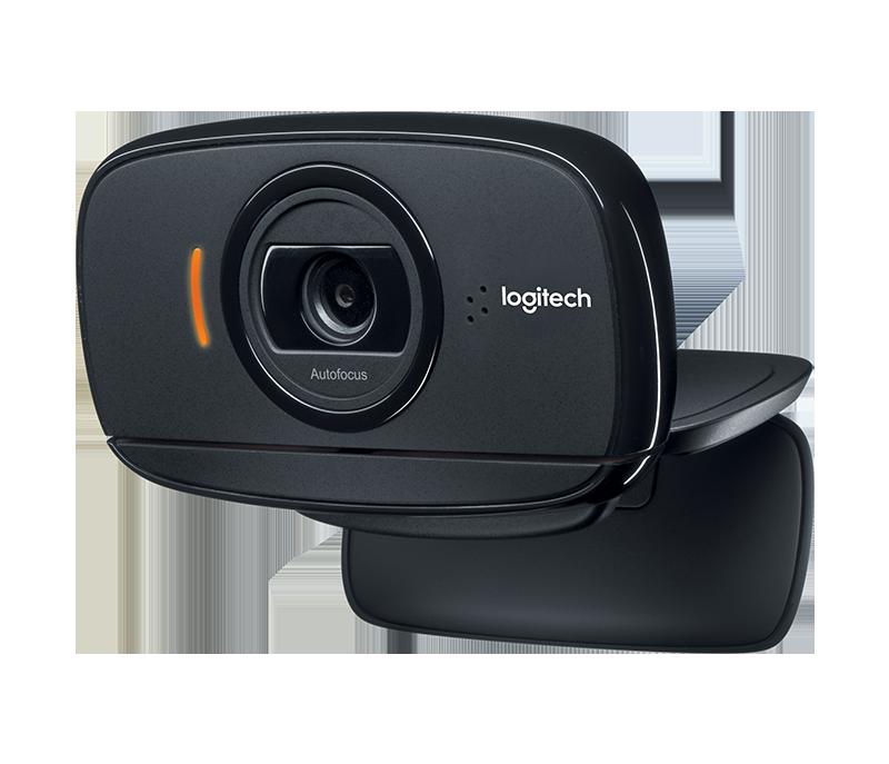 Webcam Logitech B525 HD (Đen) – Lý tưởng cho những người hay di chuyển với thiết kế có thể gấp lại, xoay 360°