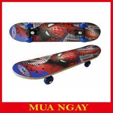 Ván Trượt Trẻ Em Skate Board Người Nhện Monaco