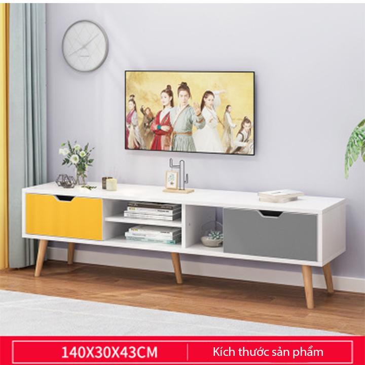 Kệ tivi đơn giản – Kệ tivi có ngăn kéo và hộc tủ – Kệ tivi lắp ghép