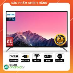 Smart Tivi Philips 43 inch Ultra HD 4K – Model 43PUT6002S/67 Tích hợp DVB-T2, Wifi