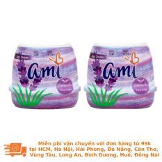 Lốc 3 Hộp Sáp Thơm Ami Lavender – Thư Giãn 200g