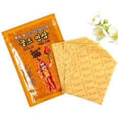 Cao Dán Hồng Sâm Gold Insam Trị Nhức Mỏi Hàn Quốc – Gói 25 miếng