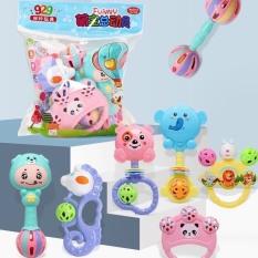 Đồ chơi xúc xắc 7 món cho bé sơ sinh, đồ chơi trẻ em