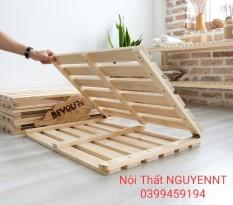 Giường gỗ xếp thông minh