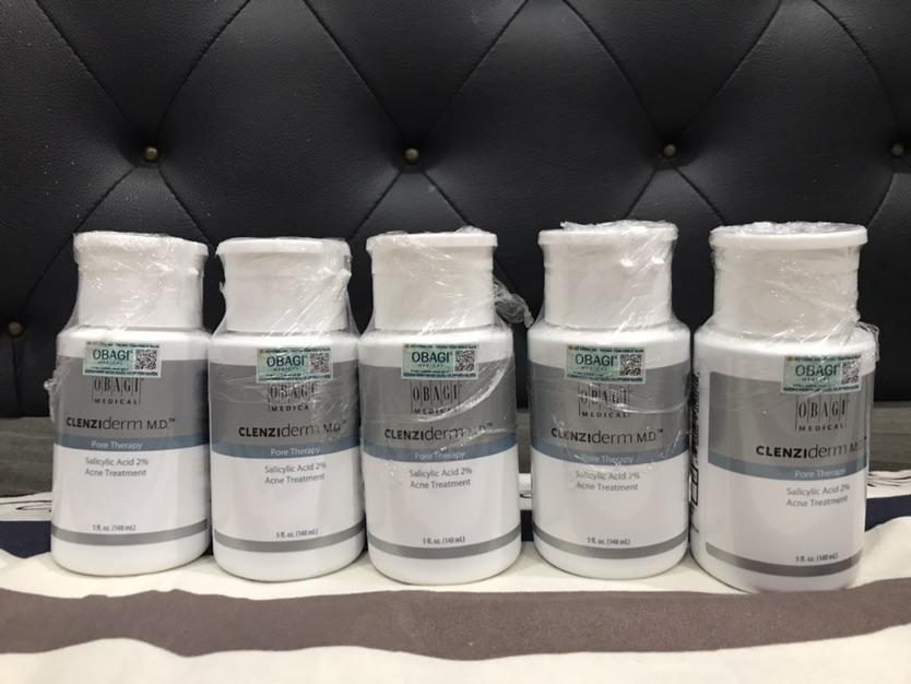 Toner BHA acid salicylic giảm mụn, giảm nhờn, thu nhỏ lỗ chân lông Obagi Clenziderm MD Pore Therapy 148ml giá...