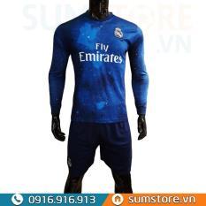 Bộ Quần Áo Đá Banh Real Madrid Galaxy Dài Tay Cực Chất – Siêu Phẩm Dải Ngân Hà Cao Cấp