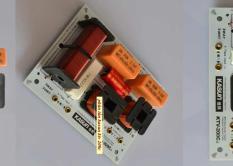 Phân tần cho loa, cobo 2 phân tần KASUN MK-200C 2WAY (2 đường tiếng) 1 loa bass 2 loa treble
