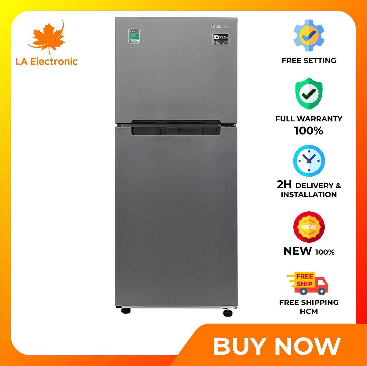 Trả Góp 0% – Tủ Lạnh – Samsung Inverter 208 liter refrigerator RT19M300BGS/SV Full VAT – Miễn phí vận chuyển HCM