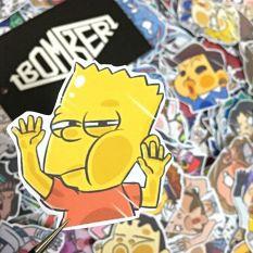 (Nhiều chủ đề) Sticker decal (hình dán trang trí) siêu cưng theo chủ đề D.FACE / GLX.Cute / Kawaiiii / Ngẫu Nhiên