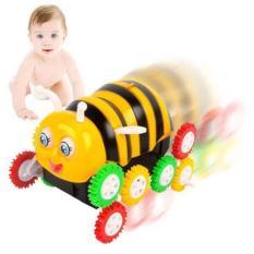Hộp đồ chơi xe bọ cánh cam nhào lộn 12 bánh lật chạy pin (Xem Video)