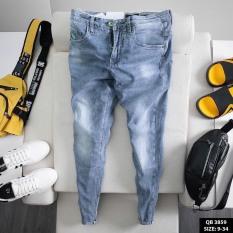 Quần jean nam dài dày dặn chất denim mềm không phai màu phong cách mun's shop tt351