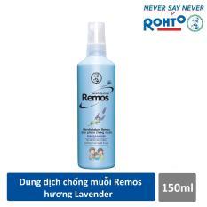 Dung dịch chống muỗi Rohto Mentholatum Remos Hương Lavender 150ml