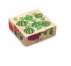[Lấy mã giảm thêm 30%]Đồ chơi tranh ghép gỗ 6 mặt – xếp hình 3D cho bé