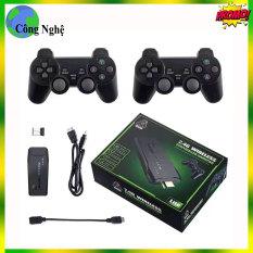 máy chơi game 4K HD Retro Video Máy Chơi Game 2.4G Đôi Điều Khiển Không Dây Cho PS1 GBA Retro Cổ Điển truyền Hình Tay Cầm Chơi Game 10000 Trò Chơi , máy chơi gamer 4 nút , máy chơi gamer cầm tay