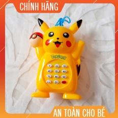 [𝐆𝐢𝐚́ 𝐒𝐨̂́𝐜]Đồ Chơi Điện Thoại Pikachu phát nhạc vui nhộn cho bé