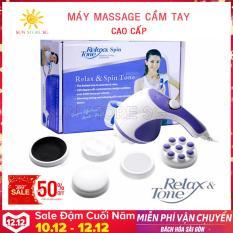 May Mat Xa Lung Cam Tay – Massage Cầm Tay Relazx Làm Từ Chất Liệu Cao Cấp, Chống Rạn Nứt, Massage Các Huyệt Đạo Ở Các Vị Trí Khác Nhau Trên Cơ Thể, Giảm Các Cơn Căng Thẳng Và Đau Nhức