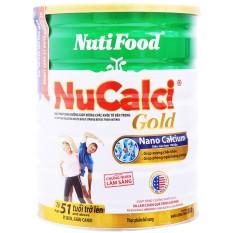 Sữa bột Nucalci Gold (từ 51 tuổi trở lên) lon 800g, sản phẩm tốt, chất lượng cao, cam kết như hình, độ bền cao, xin vui lòng inbox shop để được tư vấn thêm về thông tin