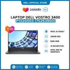 Laptop Dell Vostro 3400 14 inches FHD (Intel / i5-1135G7 / 8GB / 256GB SSD / Office HS19 / McAfee MDS / Win 10 Home SL) l Black l P132G003 (70253900) l HÀNG CHÍNH HÃNG