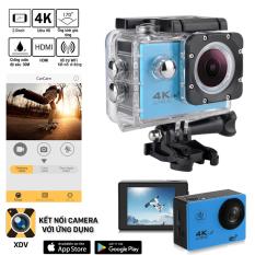 Camera hành trình Sport 4K UltraHD – Màn hình LCD, quay video sắc nét với độ phân giải 4K, hỗ trợ chống nước, chống rung giúp bạn ghi lại được những hình ảnh và video sống động, chân thực – Camera hành trình ô tô, xe máy