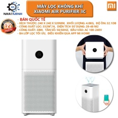 [bh 12 tháng]Máy Lọc Không Khí Xiaomi Air Purifier 3C Bản Quốc Tế Mới 2021 – Hàng Chính Hãng